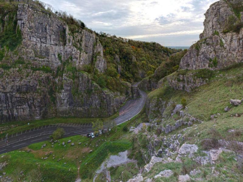 Cheddar Gorge Somerset UK