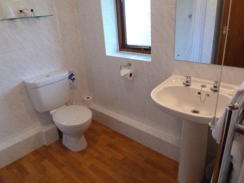Twin Room Bathroom and Toilet