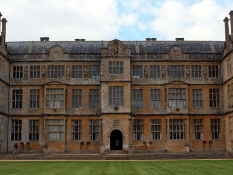 Rear Elevation Of Montacute House