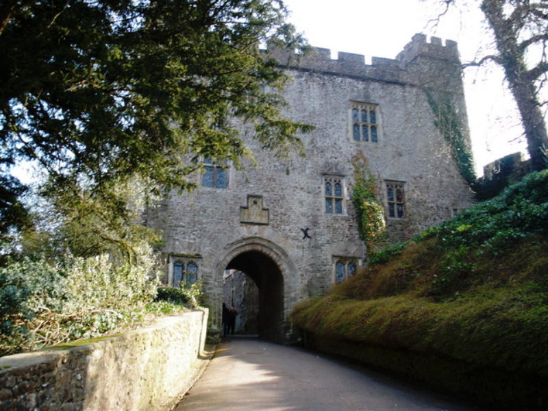 The Gatehouse Dunster Castle